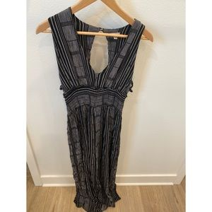 Urban Outfitters Ecote Small Black stripe jumpsuit